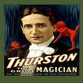 """Buyenlarge 0-587-21730-8-P1218 Thurston The Great Magician Paper Poster, 12"""" x 18"""""""