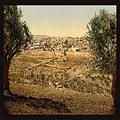 """Buyenlarge 0-587-19804-4-P1218 View from The Mount of Olives Paper Poster, 12"""" x 18"""""""