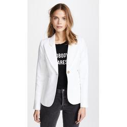 Duchess Blazer - White - Smythe Jackets