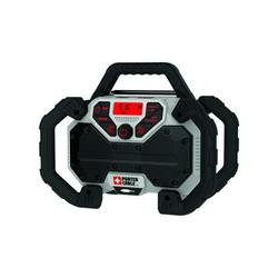 PORTER CABLE 20-Volt Max Dual-Power Jobsite Radio (Bare Tool), PCCR701B