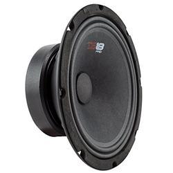 "DS18 PRO-GM8SE Loudspeaker - 8"", Midrange, Sealed Back, 480W Max, 140W RMS, 8 Ohms - Premium Quality Audio Door Speakers for Car or Truck Stereo Sound System (1 Speaker)"