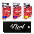 PURL - All Season Ski and Snowboard Wax with Scraper - Eco Racing Waxes - Non Toxic - Biodegradable - No Fluoros & PFC-Free - for Snowboards & Skis - Purple, Yellow, & Blue, 68g Wax Bars