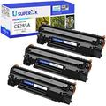 SuperInk High Yield Toner Cartridge Replacement Compatible for HP 85A CE285A Used in Laserjet Pro P1102w P1109w M1212nf M1217nfw Printer (Black, 3-Pack)