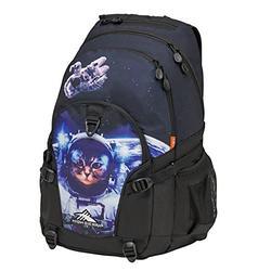 High Sierra Loop Plus Laptop Backpack, Space Cat/Black