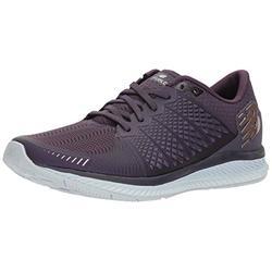 New Balance Women's FuelCell V1 Running Shoe, Elderberry/Silver, 12 D US
