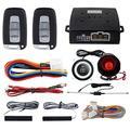 EasyGuard de voiture Système d'entrée sans clé PKE télécommande Engine Start Stop Push Start Stop automatiquement verrouiller ou déverrouiller Compatible avec pour la plupart DC12 V voitures Ec003 N-k