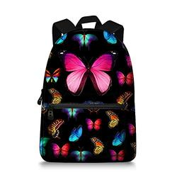 Butterfly School Bag Rucksack Backpack
