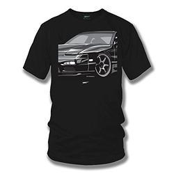 Wicked Metal 240sx, 240 t-Shirt, Street Racing, Tuner car, Muscle car Shirt Black