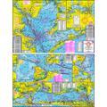Hook-N-Line Maps F102 Boat Fishing Map of Galveston Bay Area