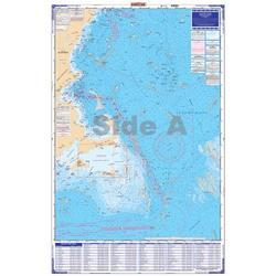 Waterproof Charts, Coastal Fishing, 64F Massachusetts Fishing Chart