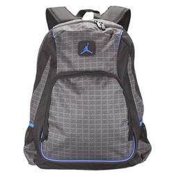 Nike Jordan Backpack Bookbag School Bag Laptop Bag Lt. Graphite Black Gray