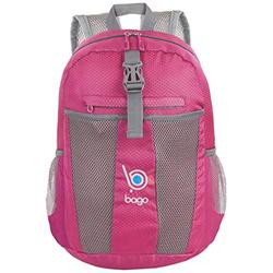 bago 25L Packable Lightweight Backpack - Water Resistant Travel and Hiking Daypack (25-Liter, Pink)