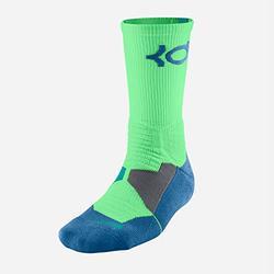 Nike Hyper Elite Basketball Crew Socks Small (Women's 4-8), Green, Blue Sx4814-394