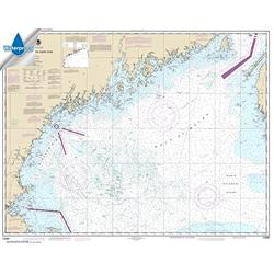NOAA Chart 13260: Bay of Fundy to Cape Cod 35.5 x 45 (Waterproof)