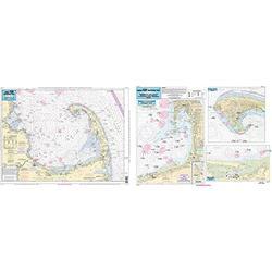 Harbors of Cape Cod Bay, MA - Laminated Nautical Navigation & Fishing Chart by Captain Segull's Nautical Sportfishing Charts   Chart # WB111
