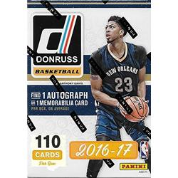 2016 2017 Donruss NBA Basketball Series Unopened Blaster Box of Packs Featuring One Autograph or Memorabilia Card Per Box!!