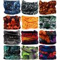 VANCROWN Headwear Head Wrap Sport Headband Sweatband 220 Patterns 12 in 1 Magic Scarf 12PCS & 6PCS 12 in 1 (12PCS.Vigor)