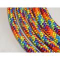 """Big Sky Tack and Snacks Horse Lead Rope Lead Line - 9/16"""" Polyester Rope Yacht Rope Rainbow 10'"""