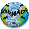 Flexible Flyer Tornado 2-Person Water & Snow Tube. Round Inflatable Pool Float & Double Sled, 50 inches (I50)