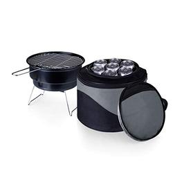 ONIVA - a Picnic Time Brand Caliente Cooler Tote with Charcoal BBQ