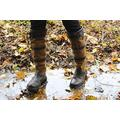"""TuffRider Women's Lexington Waterproof Tall Boots - 6"""" Shaft, Contrasting Suede - Chocolate/Fawn - 8"""