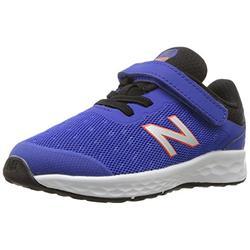 New Balance Kid's Fresh Foam Kaymin V1 Running Shoe, Pacific/Black, 5.5 W US Toddler