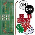Trademark 10-3020-set Craps Set - All The Pieces to Play Now Craps Set, Multi