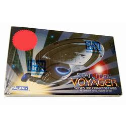 Star Trek Voyager SERIES ONE COLLECTOR CARDS Unopened Hobby Box SkyBox 1995