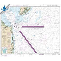 Paradise Cay Publications, Inc. NOAA Chart 12214: Cape May to Fenwick Island 35.2 x 41.4 (Waterproof)