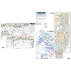 Inshore South Coast of Cape Cod, MA - Laminated Nautical Navigation & Fishing Chart by Captain Segull's Nautical Sportfishing Charts | Chart # SCC103