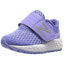 New Balance Unisex-Baby Fresh Foam Zante V4 Running Shoe, Ice Violet/Twilight, 2 W US Infant