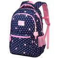 VBG VBIGER School Backpack Girl Backpacks for School Backpack for Kids Cute School Backpack Elementary Dot Bookbag(Large)