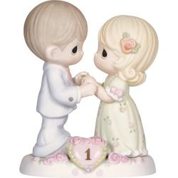 """Precious Moments """"A Whole Year Filled w/ Special Moments"""" Figurine Porcelain, Size 5.0 H x 4.0 W x 2.5 D in 