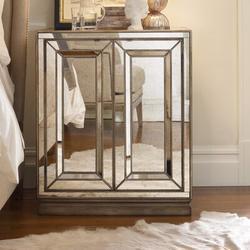 Hooker Furniture Sanctuary Nightstand Wood in Brown/Yellow, Size 36.0 H x 36.0 W x 24.0 D in   Wayfair 3014-90015