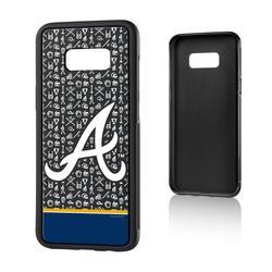 """""""Atlanta Braves Galaxy S8 Plus Stripe Bump Case"""""""