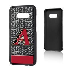 """Arizona Diamondbacks Galaxy S8 Plus Stripe Bump Case"""