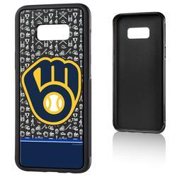 """Milwaukee Brewers Galaxy S8 Plus Stripe Bump Case"""