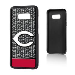 """Cincinnati Reds Galaxy S8 Plus Stripe Bump Case"""