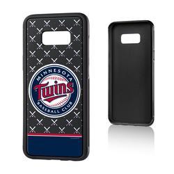 """Minnesota Twins Galaxy S8 Plus Alternate Logo Bump Case"""