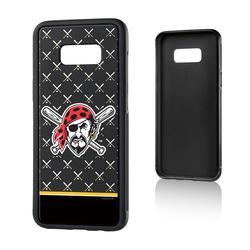 """Pittsburgh Pirates Galaxy S8 Plus Stripe Logo Bump Case"""