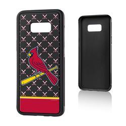 """St. Louis Cardinals Galaxy S8 Plus Stripe Logo Bump Case"""