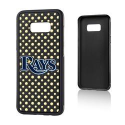"""Tampa Bay Rays Galaxy S8 Plus Baseball Bump Case"""