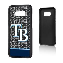 """Tampa Bay Rays Galaxy S8 Plus Stripe Bump Case"""