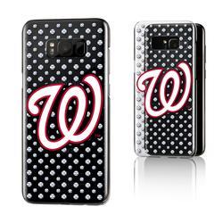 """Washington Nationals Galaxy S8 Plus Baseball Clear Case"""