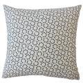 Dakota Fields Creede Modern Geometric Down Filled 100% Cotton Throw PillowDown/Feather/Cotton in Blue, Size 24.0 H x 24.0 W x 6.0 D in   Wayfair