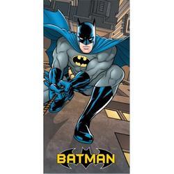 "Ben and Jonah Royal Plush Batman Climbing Beach Towel, Polyester in Blue, Size 60""H X 30""W | Wayfair JPI-Beach-Batman-Climbing"