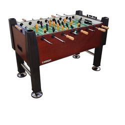 "Carrom kids Signature 55"" Foosball Table, Manufactured wood in Green, Size 55"" L x 36"" W x 50"" H | Wayfair 522.03"