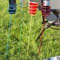 Arlmont & Co. Harvey Drink Holder 4 Pieces Garden Stake Set, Metal, Size Large (2'-3') | Wayfair 0C8F2F715C1845079D1B63B949CEC3EB
