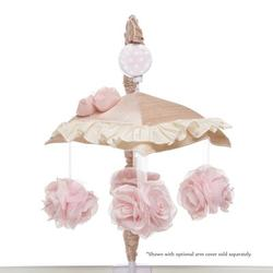 Harriet Bee Chason Musical MobilePlastic in Brown/Pink, Size 22.0 H x 11.0 W x 18.0 D in | Wayfair HBEE7150 42374222