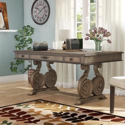 """Hooker Rhapsody Desk - Hooker Furniture Rhapsody Writing Desk, Wood in Brown, Size 30""""H X 73""""W X 40""""D"""